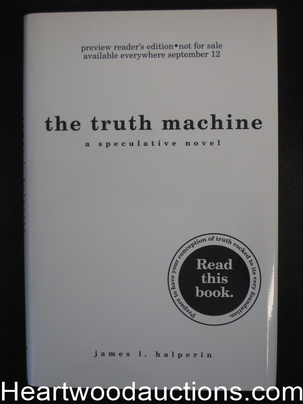 The Truth Machine by James L. Halperin