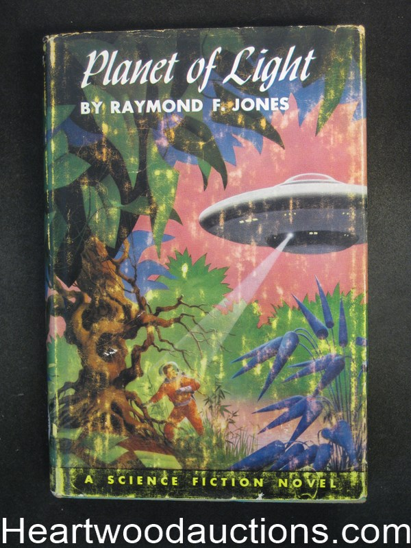 Planet of Light by Raymond F. Jones Schomburg Cvr
