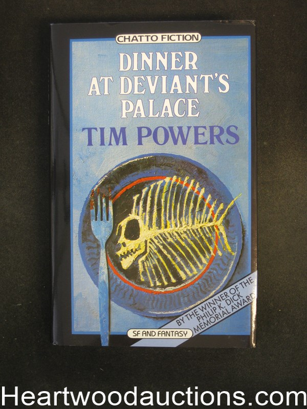 Dinner At Deviant's Palace by Tim Powers Unread Copy