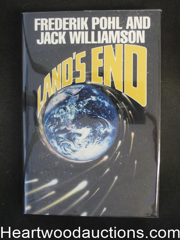 Land's End by Frederik Pohl (Signed)- High Grade