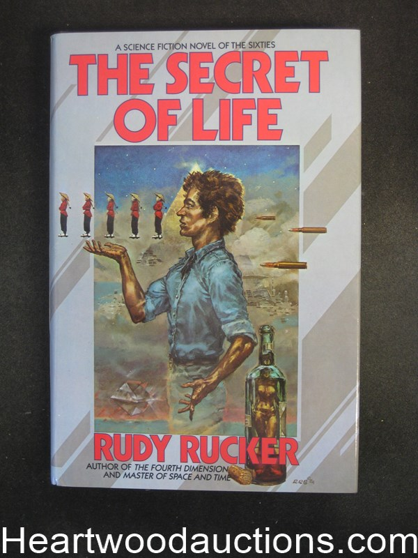 The Secret of Life by Rudy Rucker Unread Copy.- High Grade
