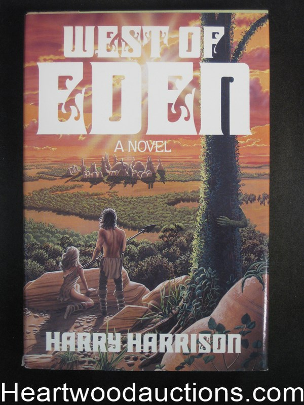 West Of Eden by Harry Harrison- High Grade