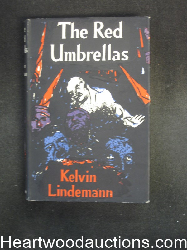 The Red Umbrellas by Kelvin Lindemann