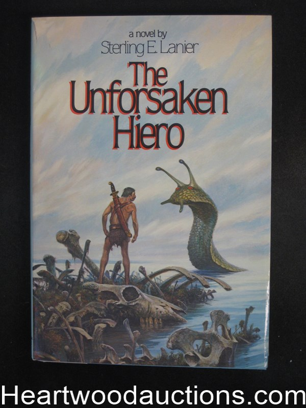 The Unforsaken Hiero by Sterling E. Lanier- High Grade