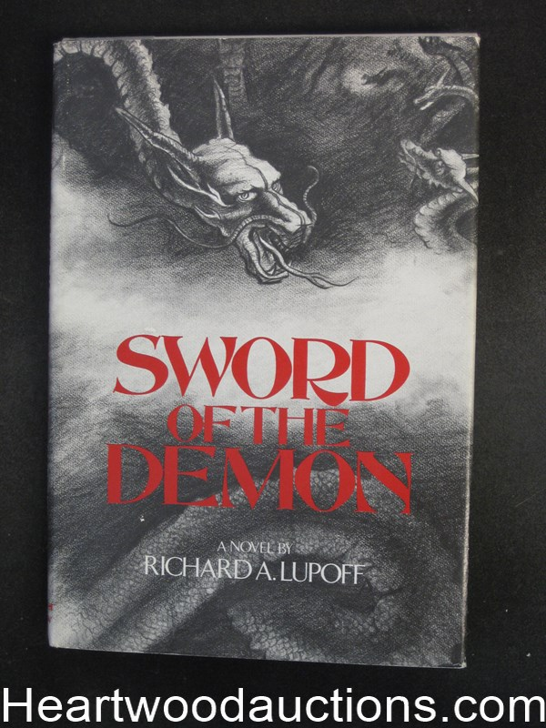 Sword Of The Demon by Richard A.  Lupoff Unread Copy- High Grade