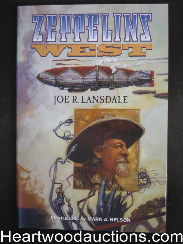 Zeppelins West by Joe R. Lansdale Signed Limited