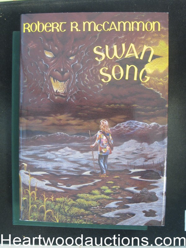 Swan Song by Robert R. McCammon Signed limited Incredible #2 of 650 copies