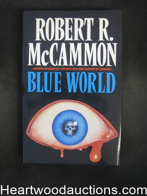 Blue World by Robert R.  McCammon Signed