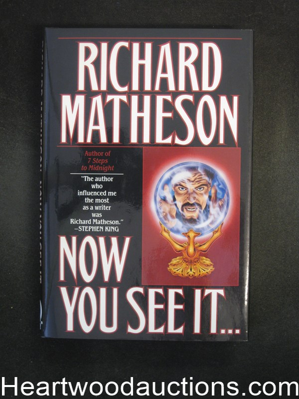 Now You See It... by Richard Matheson Unread Copy