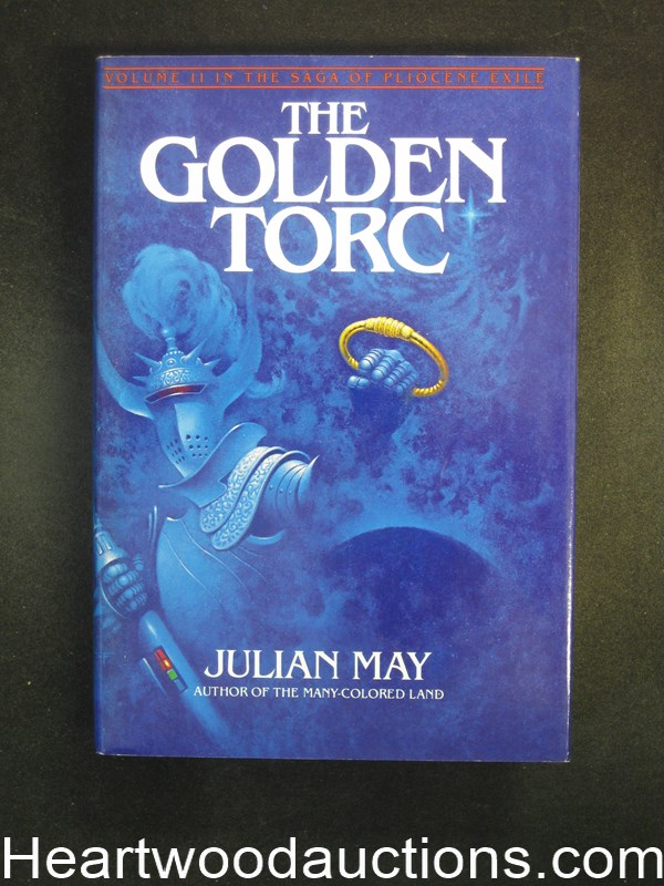 The Golden Torc by Julian May Signed- High Grade