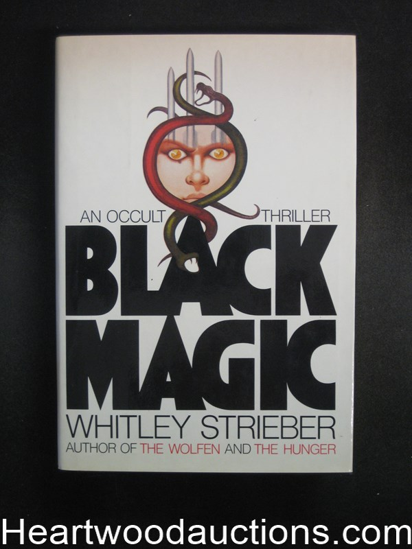 Black Magic by Whitley Strieber- High Grade