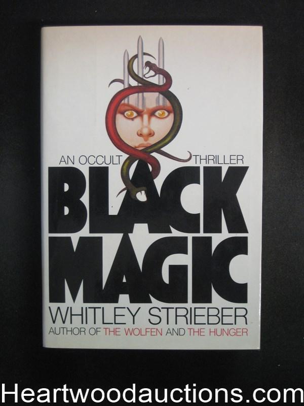Black Magic By Whitley Strieber High Grade