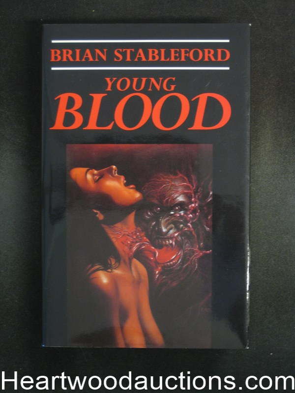 Young Blood by Brian Stableford (Signed)- High Grade