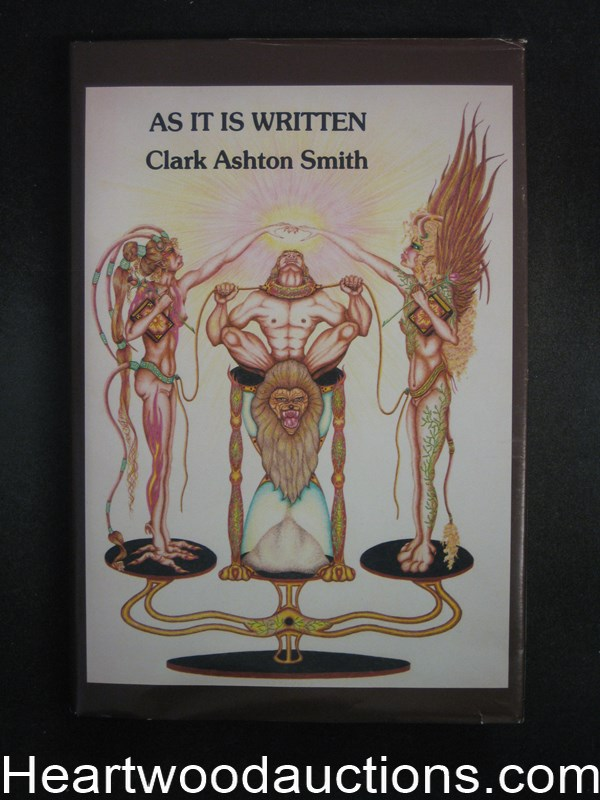 As It Is Written by Clark Ashton Smith (Signed by Illo) Limited- High Grade