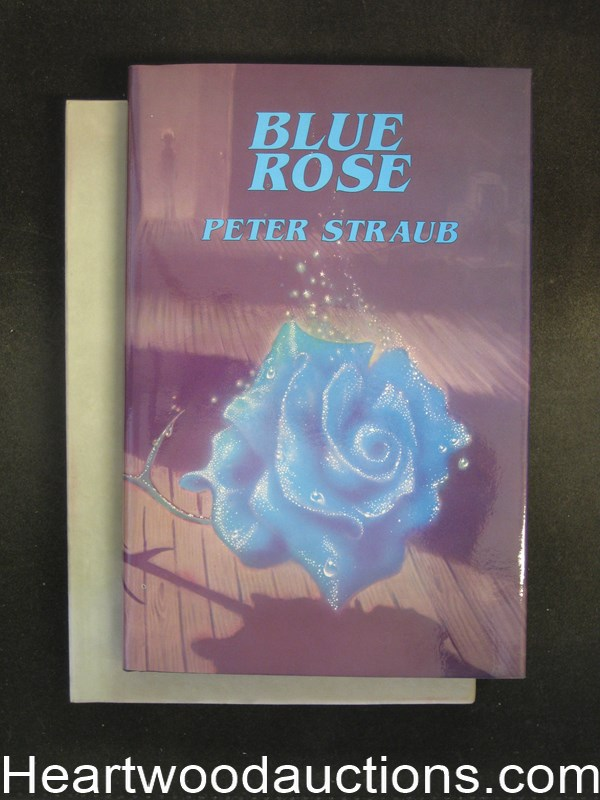 Blue Rose by Peter Straub (Signed)