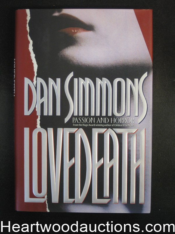 Lovedeath by Dan Simmons (Signed)