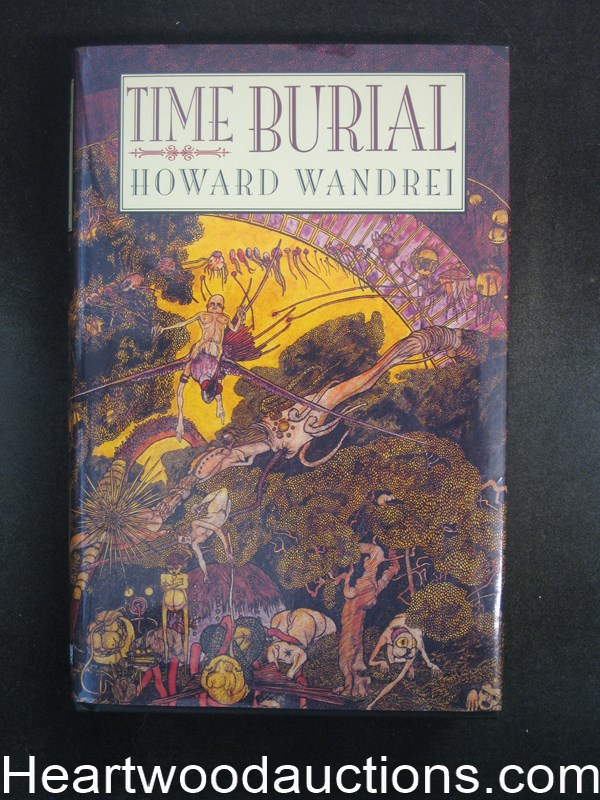Time Burial by Howard Wandrei- High Grade