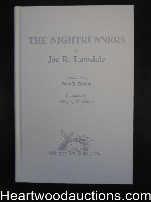 The Nightrunners by Joe R. Lansdale (Signed)