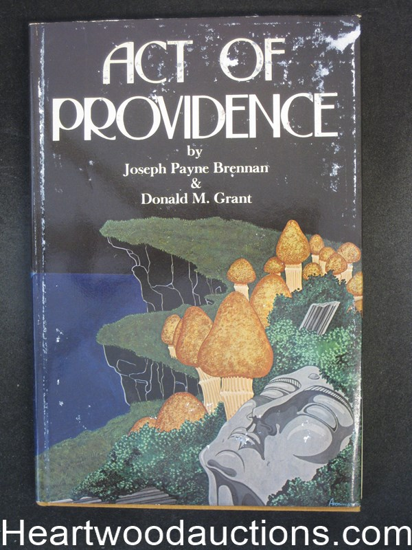 Act of Providence by Joseph Payne Brennan- High Grade