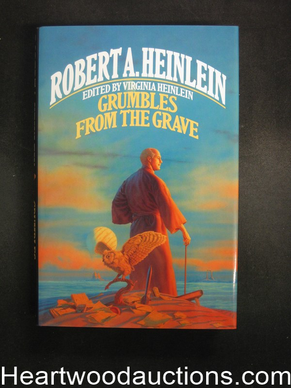 Grumbles From the Grave by virginia Heinlein Unread Copy