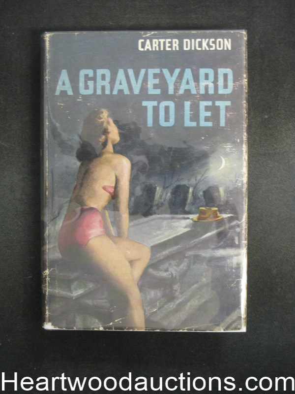 A Graveyard To Let by Carter Dickson