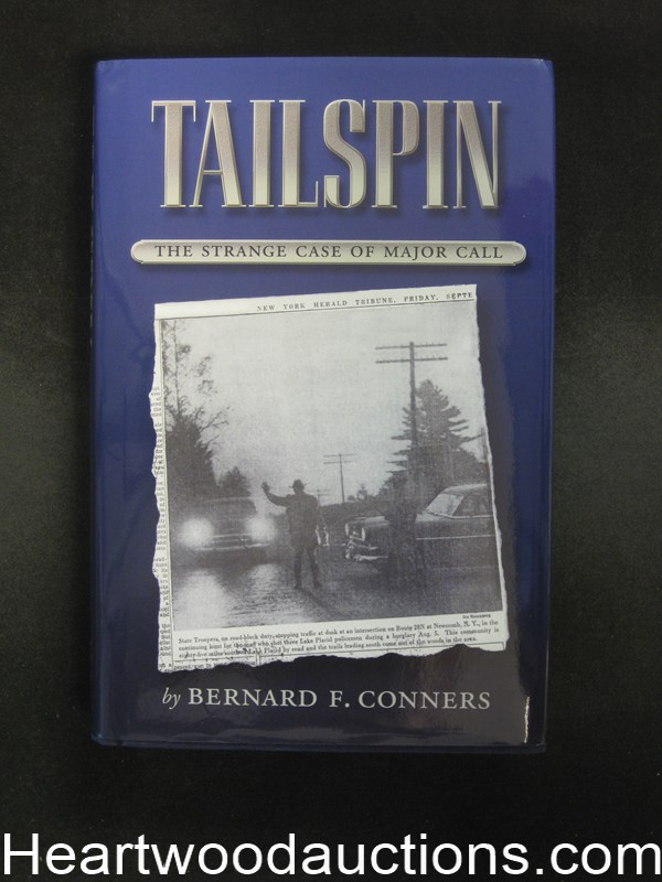 Tailspin by Bernard F. Conners (Signed)(Inscribed) Unread Copy