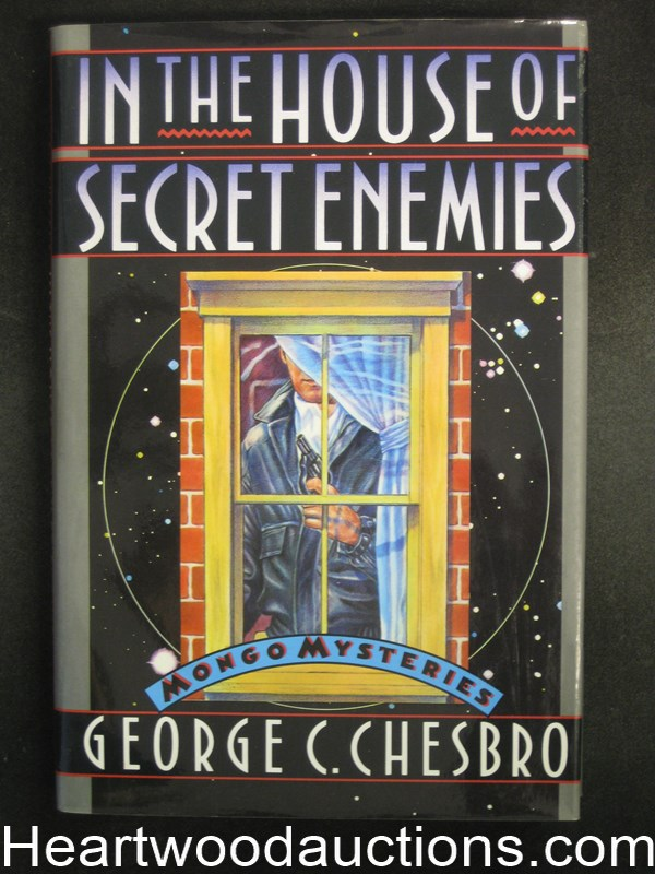 In the House of Secret Enemies by George C. Chesbro- High Grade