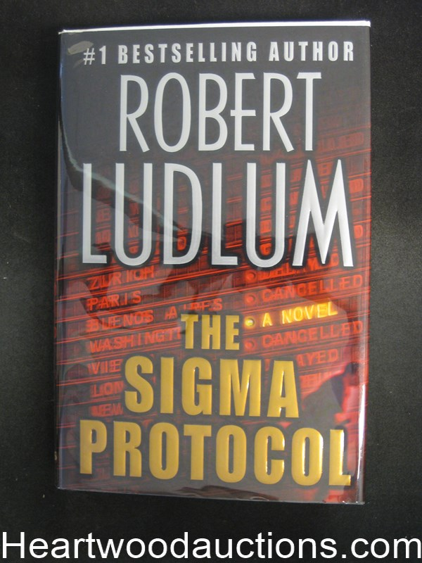 The Sigma Protocol by Robert Ludlum- High Grade