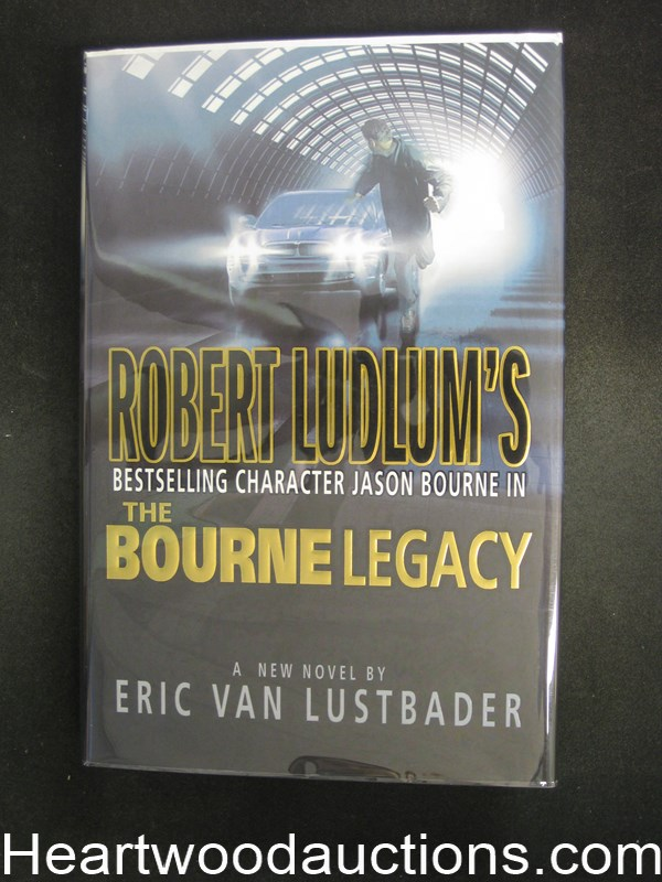 The Bourne Legacy by Eric Van Lustbader Unread Copy