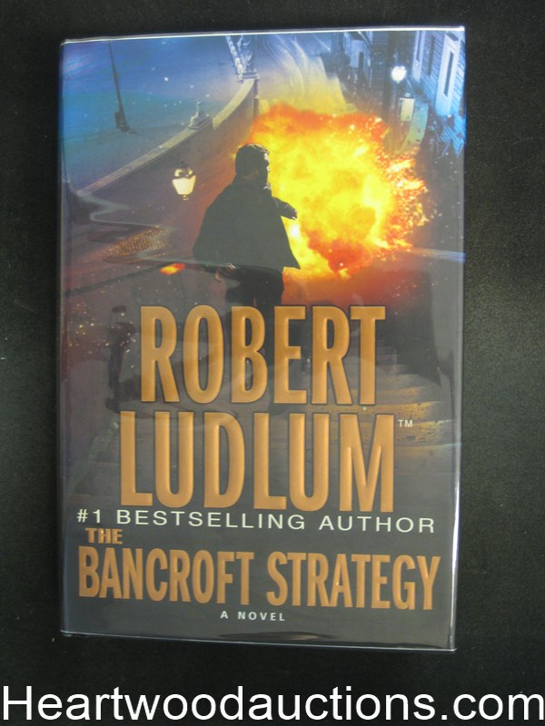 The Bancroft Strategy by Robert Ludlum- High Grade