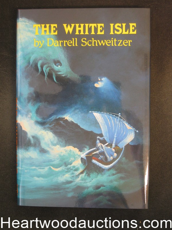 The White Isle by Darrell Schweitzer  (Signed) Limited Edition