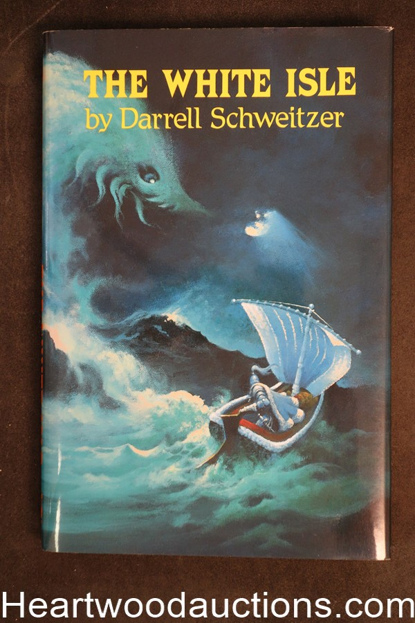 The White Isle by Darrell Schweitzer (1989) Great mermaid cover!