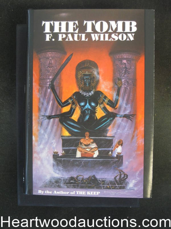 The Tomb by F. Paul Wilson  (Signed) Limited