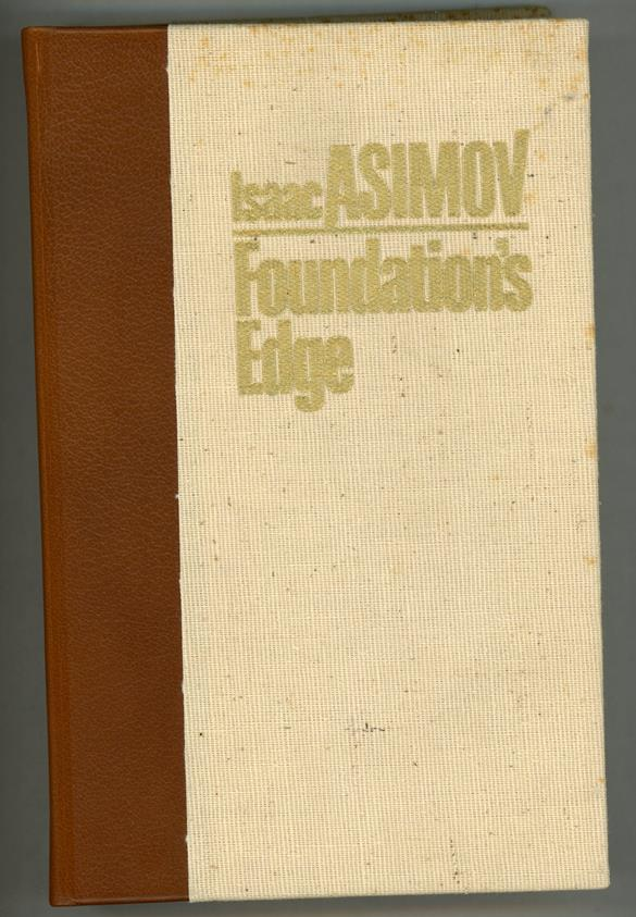 Foundation's Edge by Isaac Asimov Signed LTD First Edition #9/1000