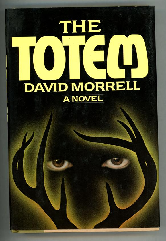 The Totem by David Morrell Signed/Inscribed 1st Ed w/numberline