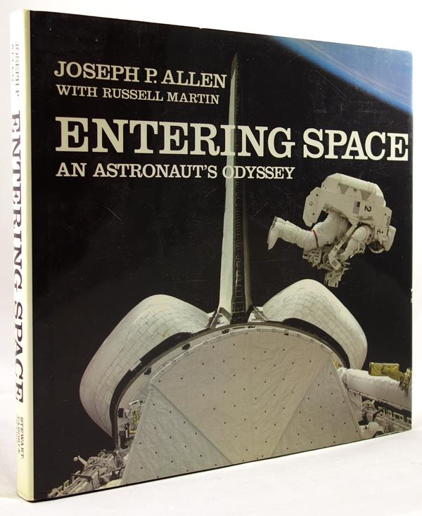 Entering Space: An Astronaut's Odyssey by Joseph Allen& R. Martin Signed 1st Ed