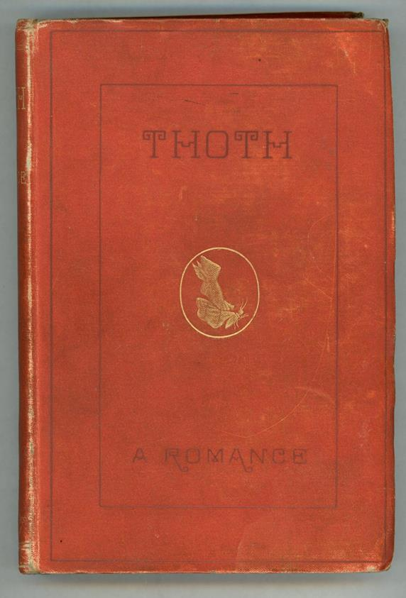 Thoth: A Romance by [Joseph Shield Nicholson] (First Edition)