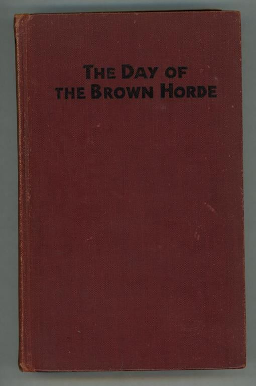 The Day of the Brown Horde by Richard Tooker