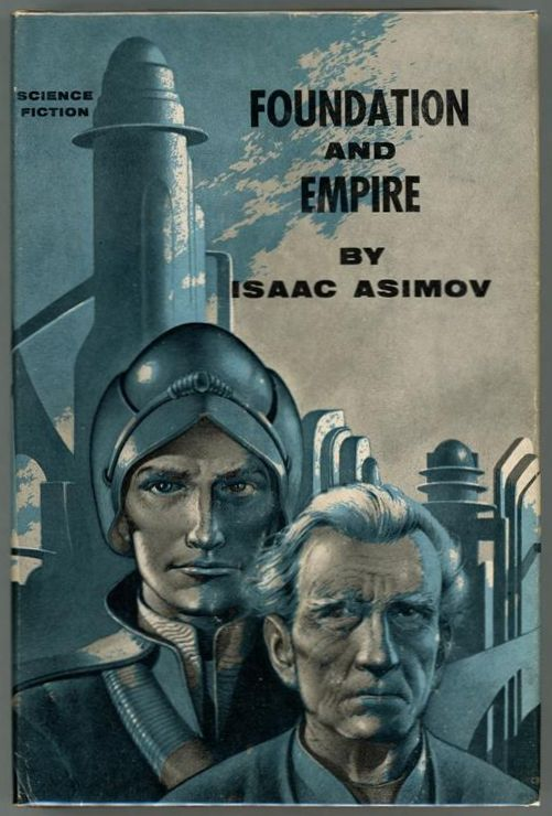 Foundation and Empire by Isaac Asimov (First edition) Edd Cartier Art