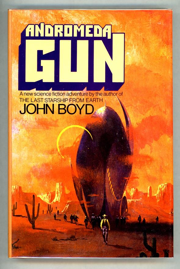 Andromeda Gun by John Boyd (First Edition)- High Grade