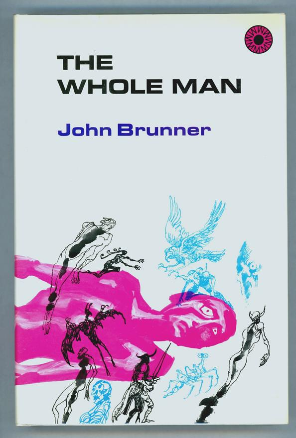 The Whole Man by John Brunner (First edition)- High Grade