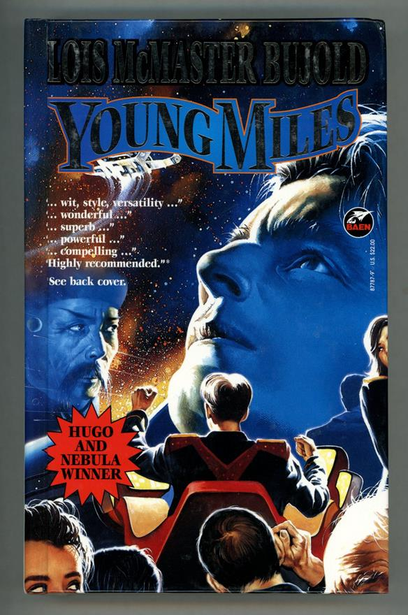 Young Miles by Lois McMaster Bujold (First edition)- High Grade