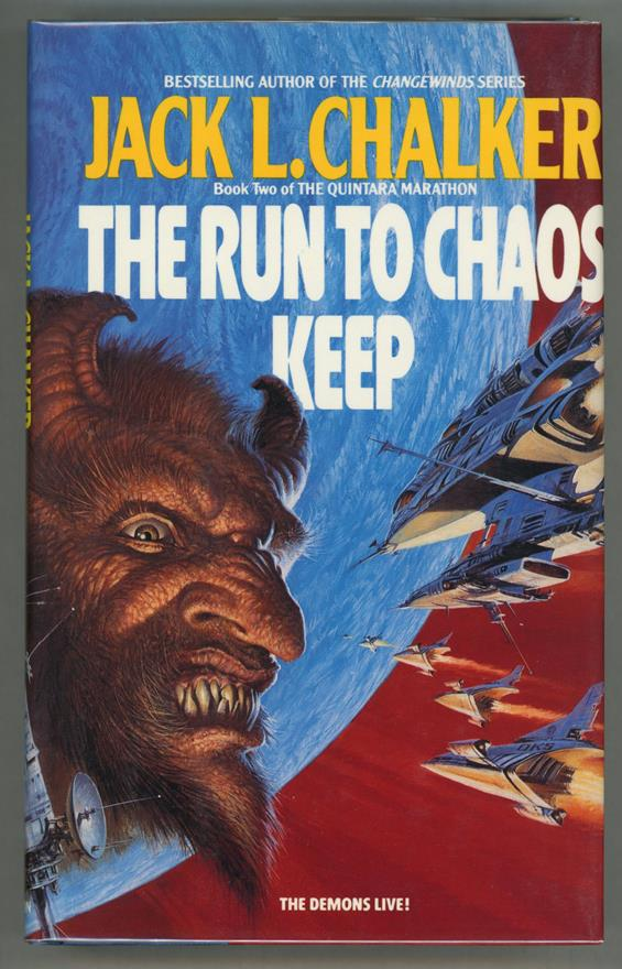 The Run to Chaos Keep by Jack L. Chalker- High Grade
