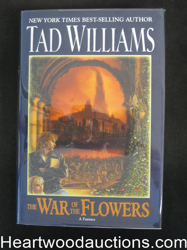 War of the Flowers by Tad Williams- High Grade