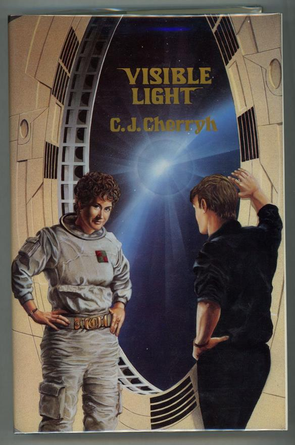 Visible Light by C. J. Cherryh (First Edition)- High Grade