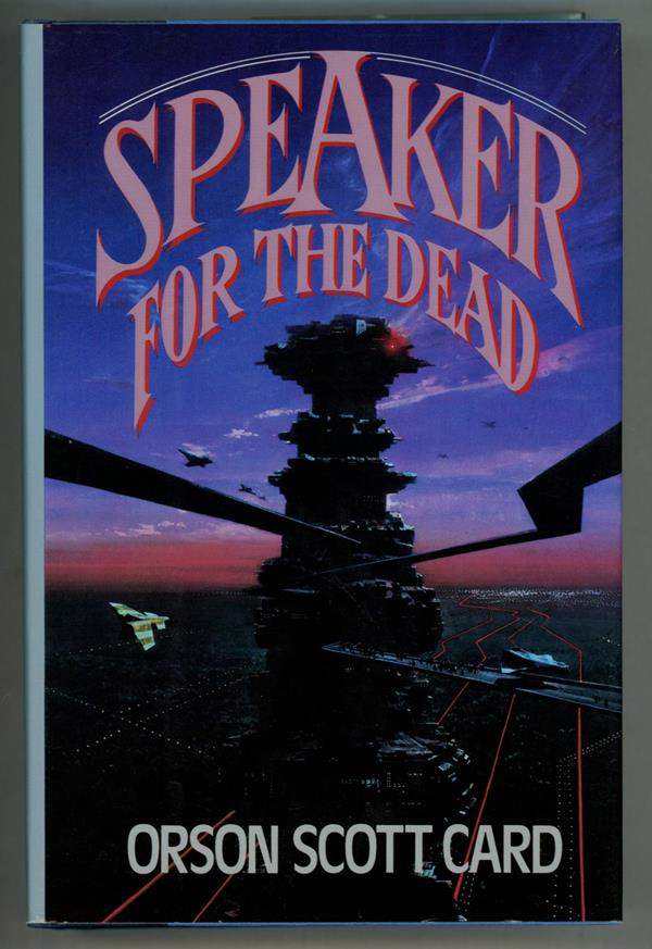 Speaker for the Dead by Orson Scott Card (First edition)- High Grade