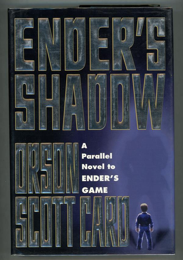 Ender's Shadow by Orson Scott Card (Signed, First edition)