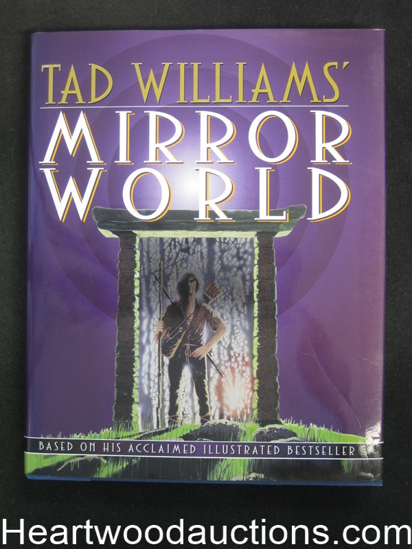 Mirror world by tad williams for Mirror books
