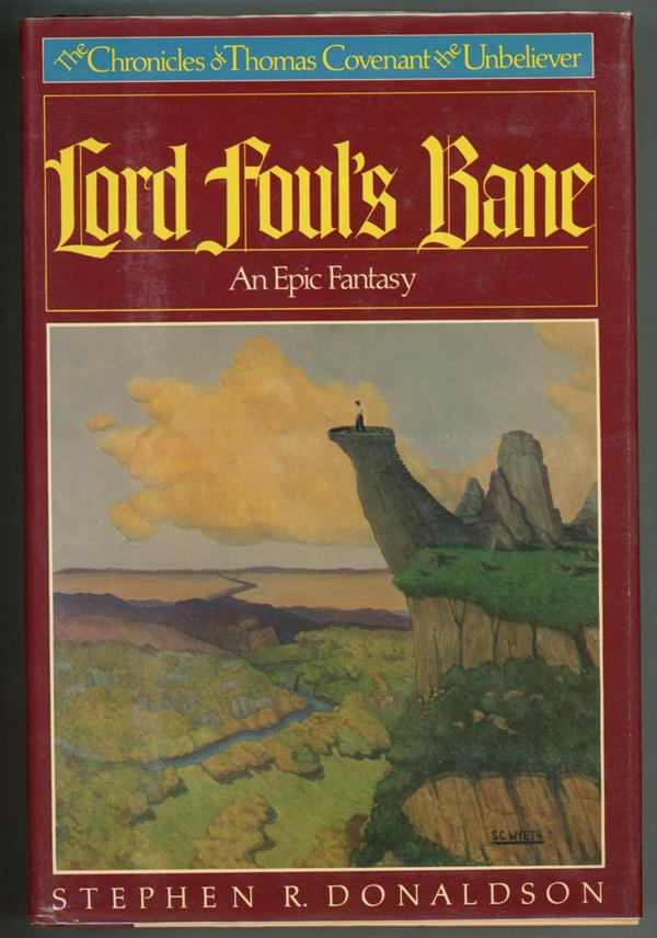 Lord Foul's Bane by Gordon R. Dickson (Signed, First)- High Grade