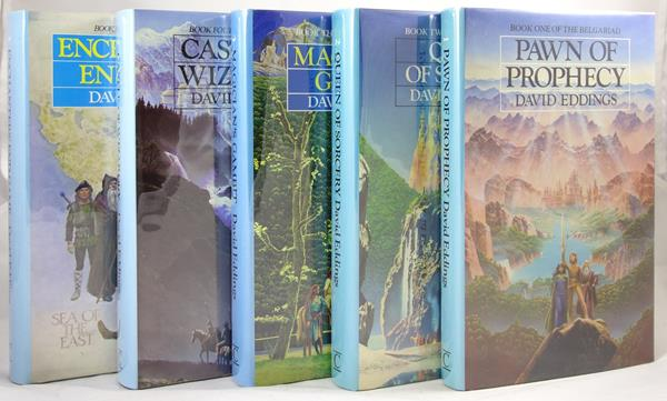 The Belgariad: Five-Volume Set by David Eddings (First Edition)- High Grade